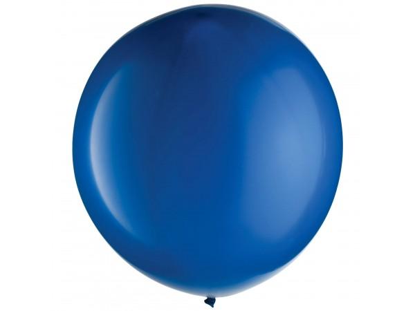 """Amscan 24"""" Jumbo Royal Blue Latex Balloons (8 Ct)"""
