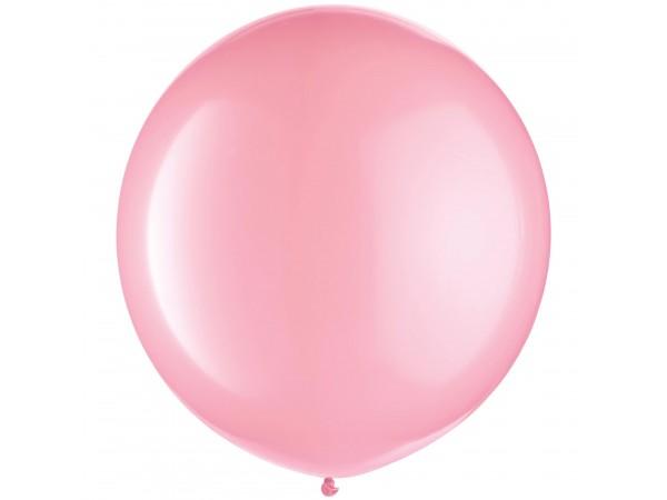 """Amscan 24"""" Jumbo Pink Latex Balloons (8 Ct)"""
