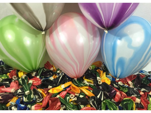 """12"""" Marble Latex Balloons (25 Ct)"""