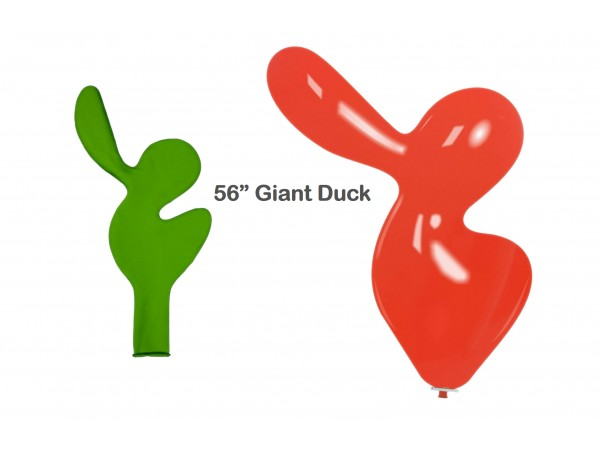 """Cattex 56"""" Large Duck Latex Balloon"""