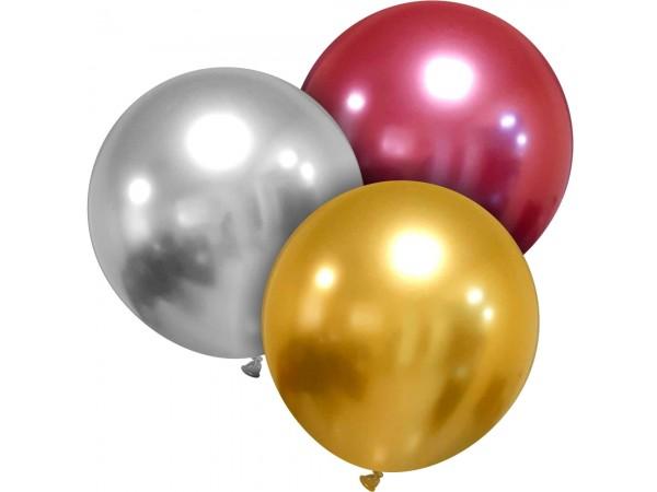 """Cattex 24"""" Titanium+ Round Latex Balloon (EA)"""