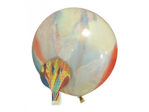 """Cattex 35"""" Marble Latex Balloons (1 ct)"""