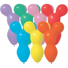 "Betallatex 18"" Big Bear Fashion Assortment Latex Balloons (50 Ct)"