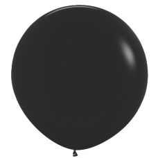36 Inch Deluxe Black Latex Balloons (1 ct)
