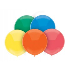 17 inch BSA Standard Assortment Latex Balloons  (72 Ct)