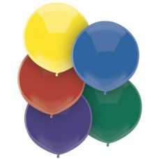 17 inch BSA Royal Rich Assortment Latex Balloons  (72 Ct)