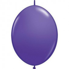 12 Inch  Purple Violet QuickLink Latex Balloons (50 ct)