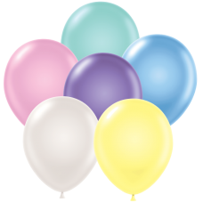 11 Inch Pearlized Assortment Latex Balloons (72 ct)