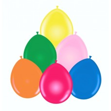 7 Inch Heavy Weight Latex Game Balloons.
