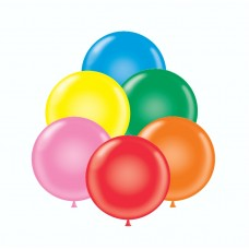 36 Inch Standard Assortment Latex Balloons (10 ct)