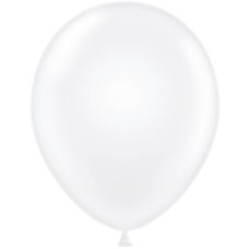 24 Inch Crystal Clear Latex Balloons (25 ct)