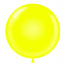 60 Inch Yellow Latex Balloon (ea)