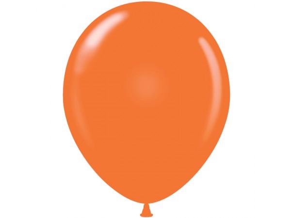 Orange Latex Balloons - 05