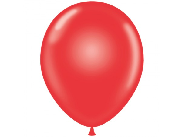 Crystal Red Latex Balloons - 19